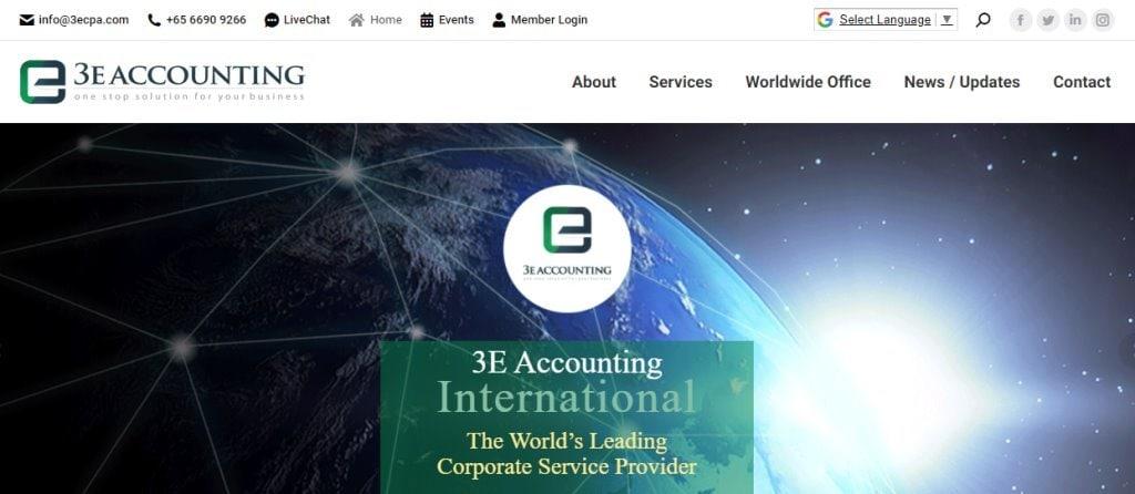 3e Accounting Top BPO Companies in Singapore