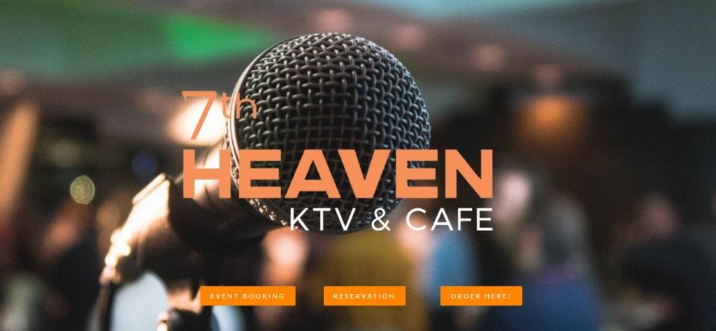 7th Heaven Top KTV Studios In Singapore