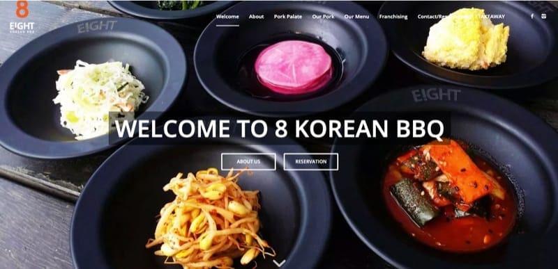 8korean bbq digital marketing