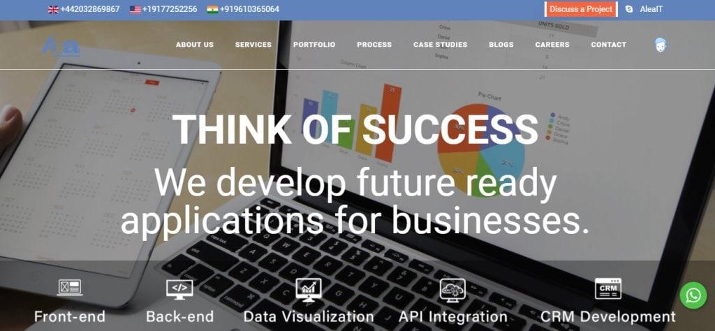 Alea Top App Developers in Singapore