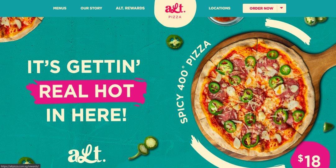 AltPizza Top Pizza Deliveries In Singapore