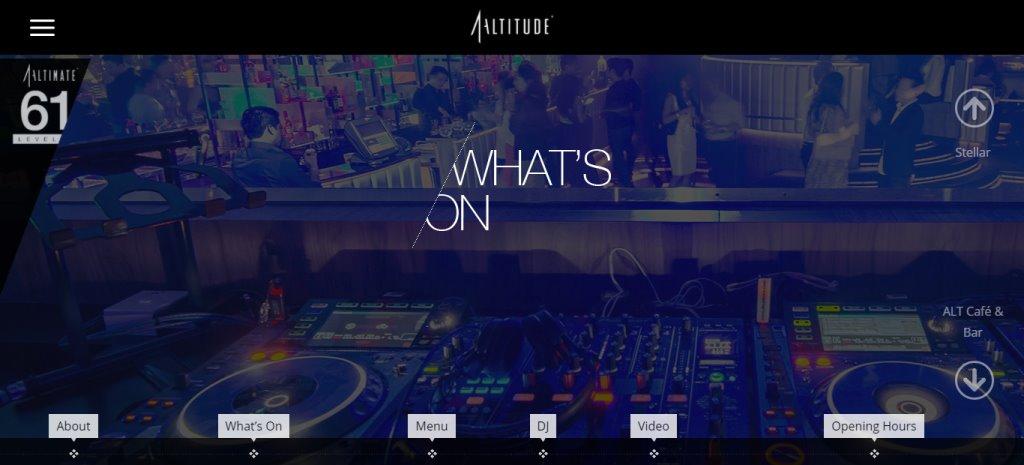 Altitude Top Nightclubs In Singapore