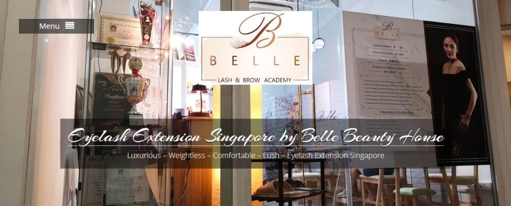 Belle Top Eyelash Extension In Singapore