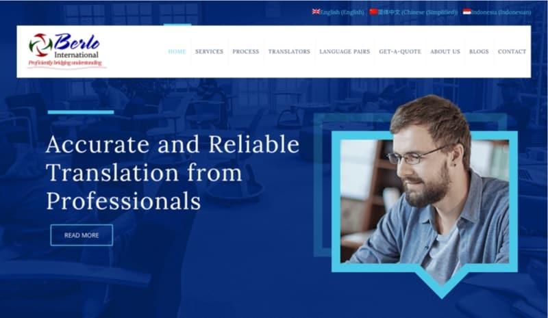 Berlo Translation digital marketing