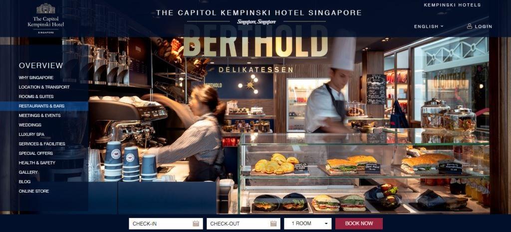 Berthold delikatssen Top Bakeries In Singapore