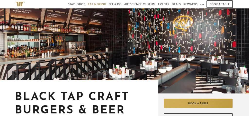 Black Tap Craft Top Burgers In Singapore