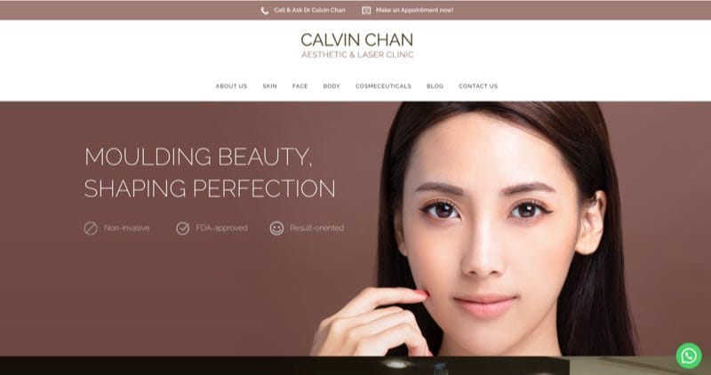 Calvin Chan Aesthetic & Laser Clinic hair removal