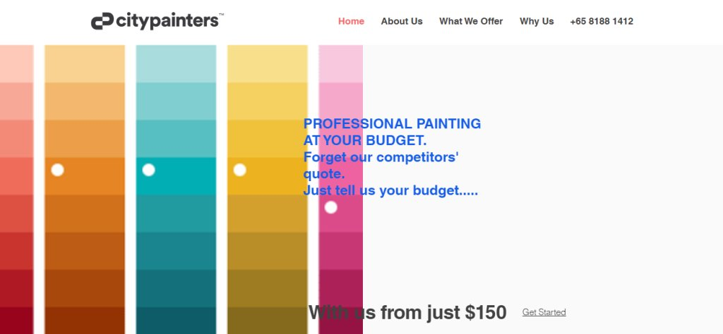 City Painters Top Painting Services In Singapore