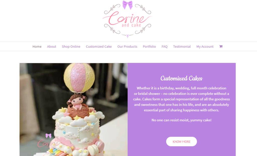 Corrine And Cake Top Birthday Cakes In Singapore