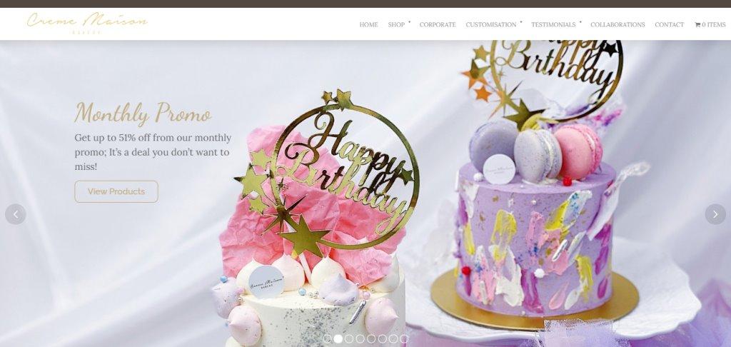 Creme Maison Top Birthday Cakes In Singapore
