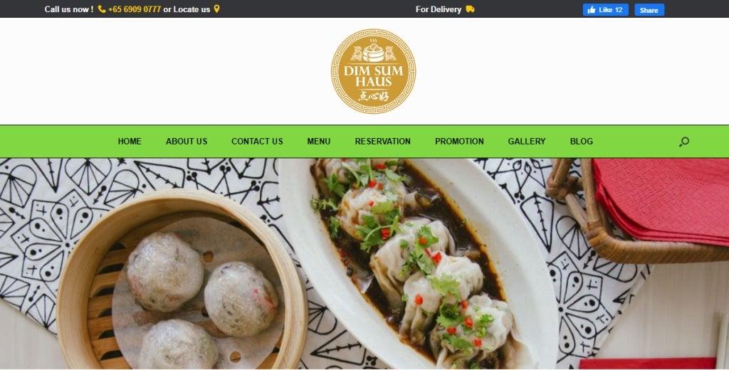 Dim Sum Haus Top Dim Sum In Restaurants Singapore
