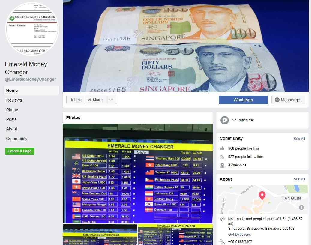 Emerald Top Money Changers In Singapore