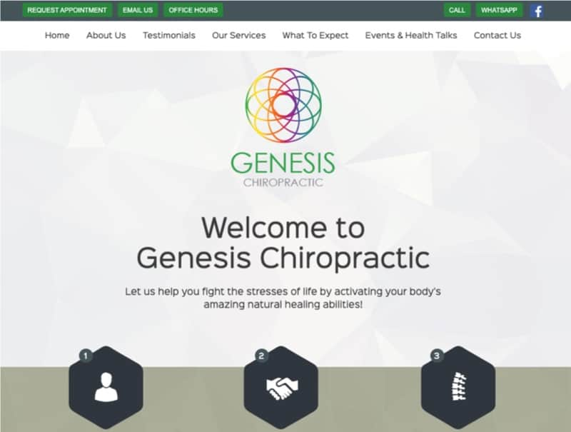 Genesis Chiropractic digital marketing