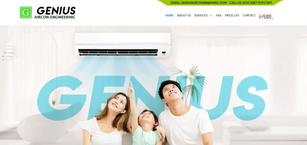 Genius Aircon Top Air Conditioning Services In Singapore