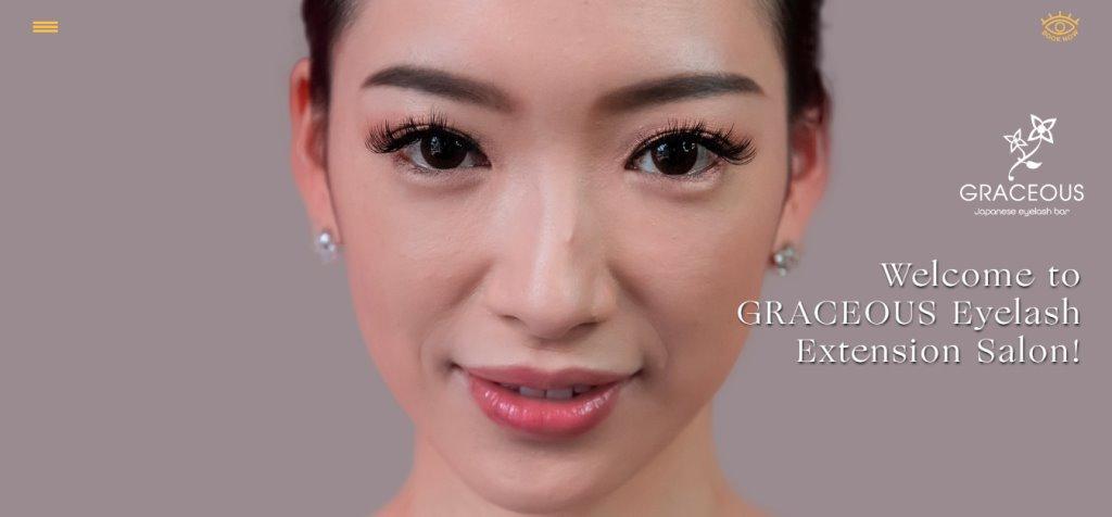 Graceous Top Eyelash Extension In Singapore