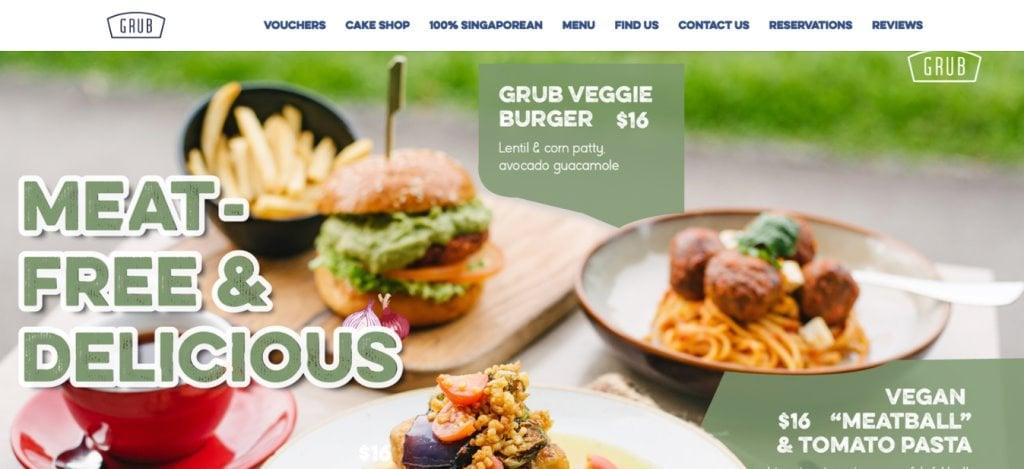 Grub Top Burgers In Singapore