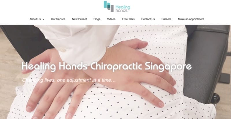 Healing Hands Chiropractic digital marketing