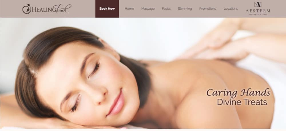 Healing Touch Spa top massage singapore