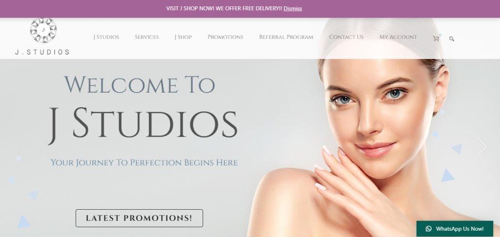 J Studios Top Facial Treatments In Singapore