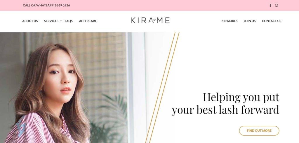 Kirame Top Eyelash Extension In Singapore