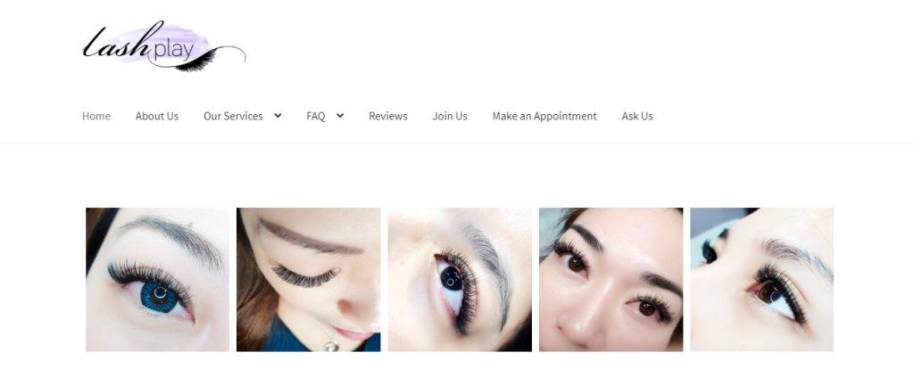 Lash Play Top Eyelash Extension In Singapore