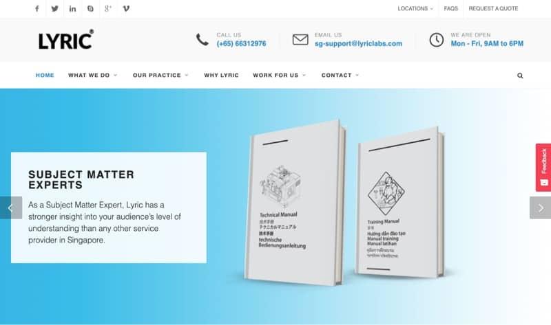 Lyric Technologies digital marketing