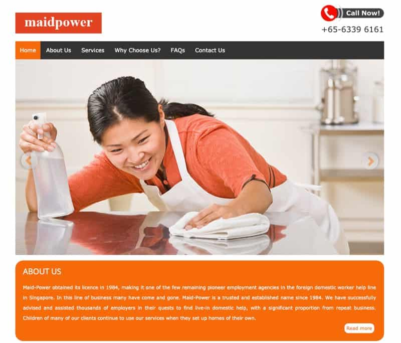 Maid-Power digital marketing
