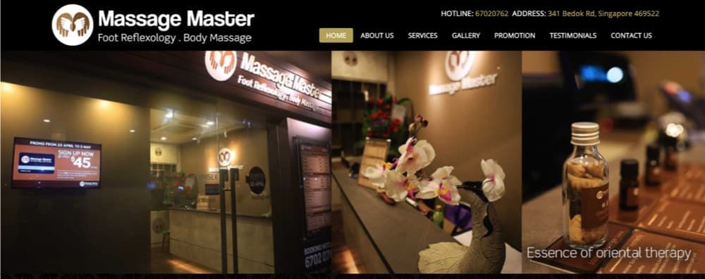 Massage Master top massage singapore