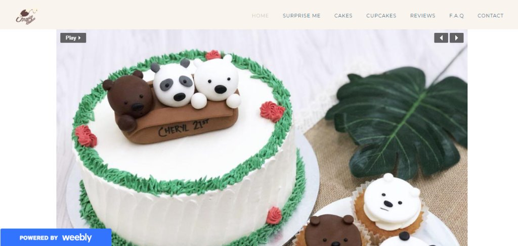 Monice Bakes Top Birthday Cakes In Singapore