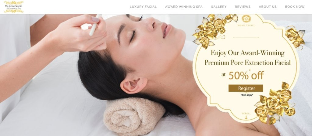 My Cozy Room Top Facial Treatments In Singapore