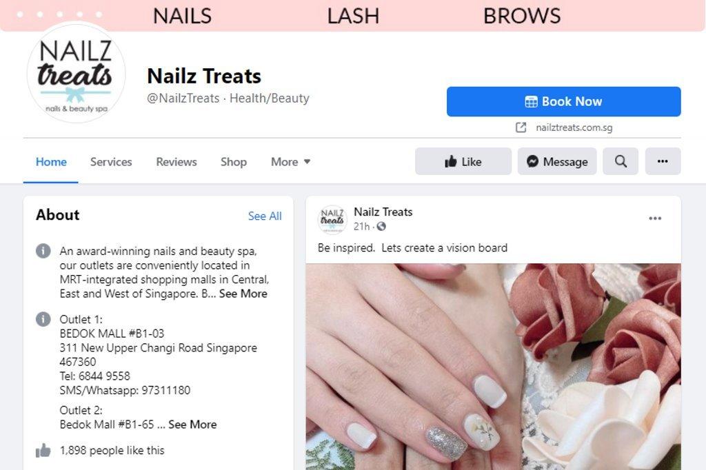 Nail Treatz Top Manicure & Pedicure In Singapore