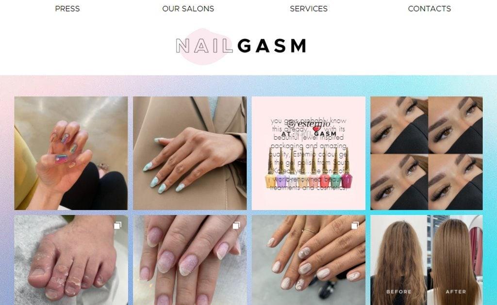 Nailgasm Top Manicure & Pedicure In Singapore