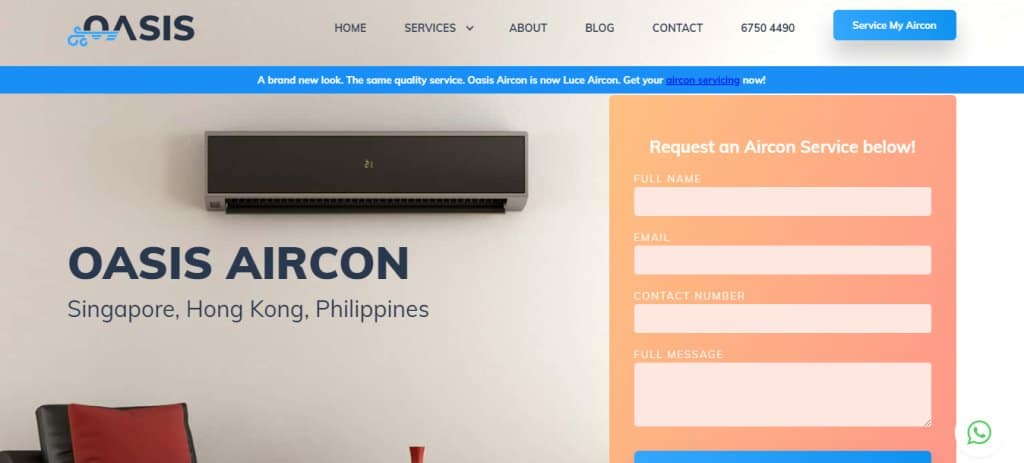 Oasis Top Air Conditioning Services In Singapore