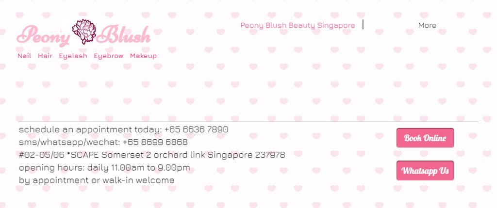 Peony Blush Top Manicure & Pedicure In Singapore