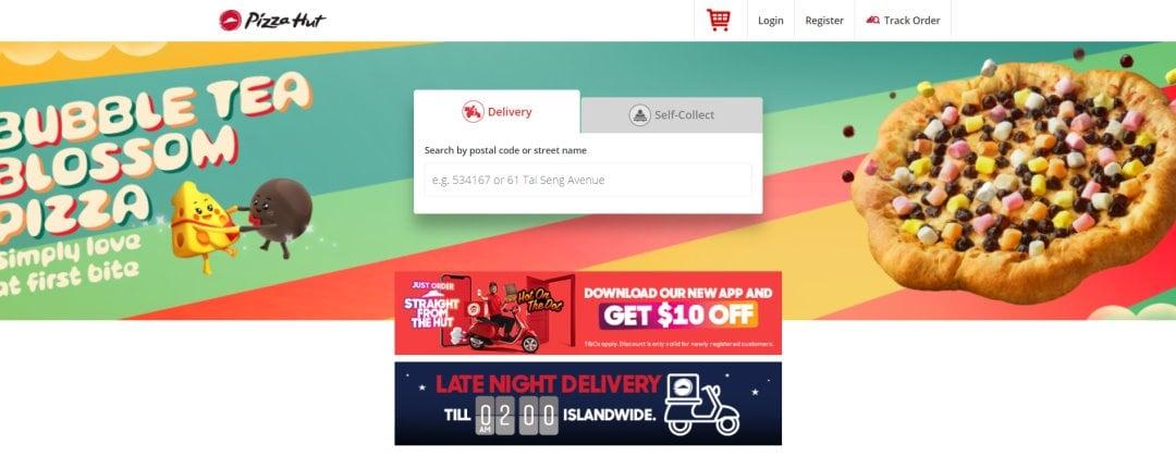 Pizzahut Top Pizza Deliveries In Singapore