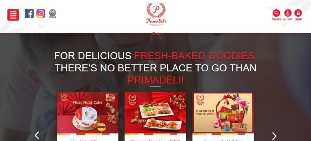 Primadeli Top Bakeries In Singapore