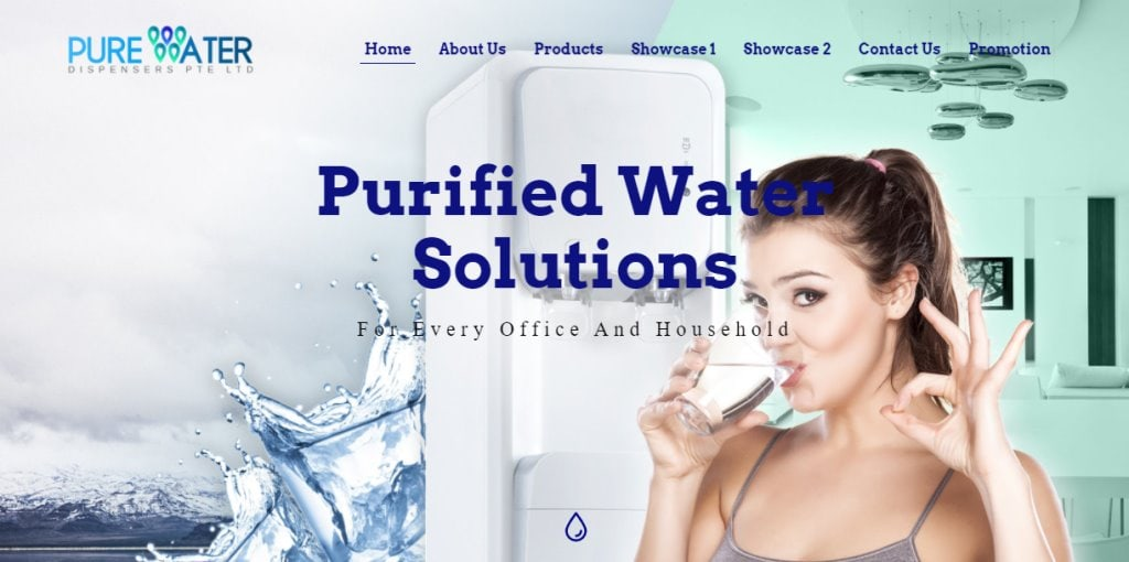 Pure Water Top Water Dispensers In Singapore