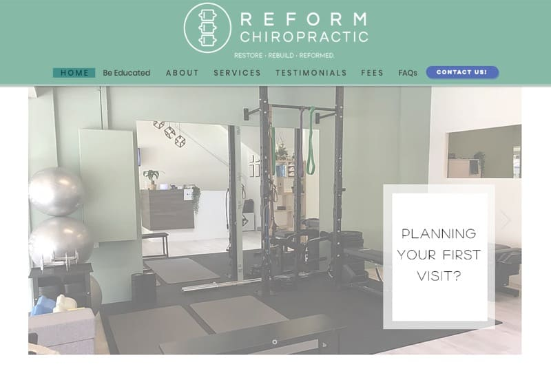 Reform Chiropractic digital marketing