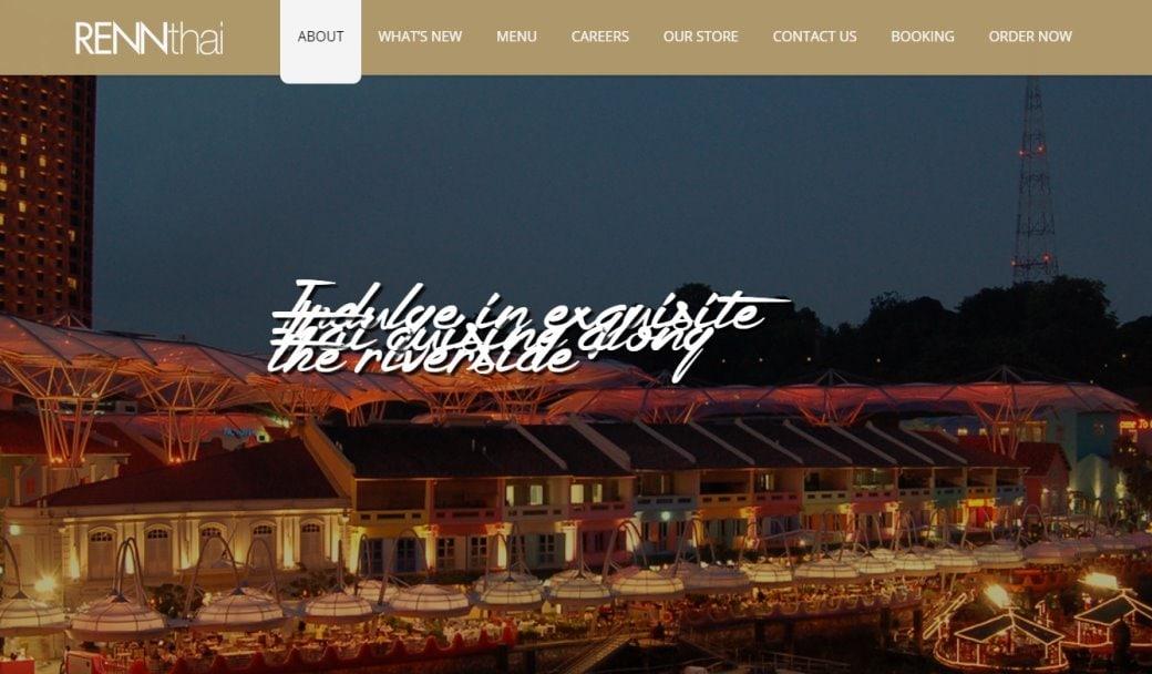 RenThai Top Thai Restaurants In Singapore