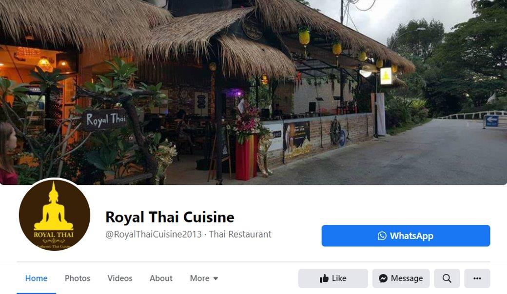 Royal Thai Cuisine Top Thai Restaurants In Singapore