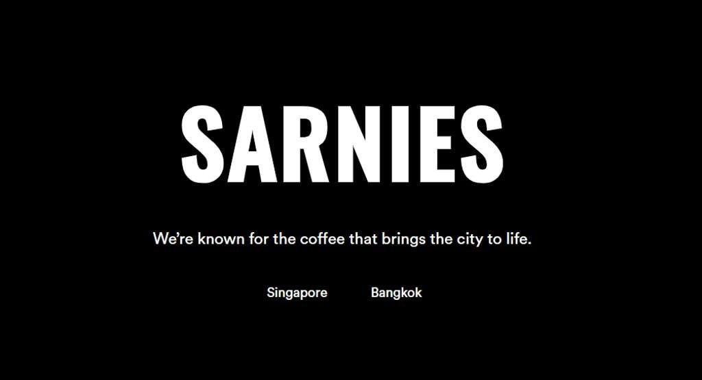 Sarnies Top Cafes In Singapore