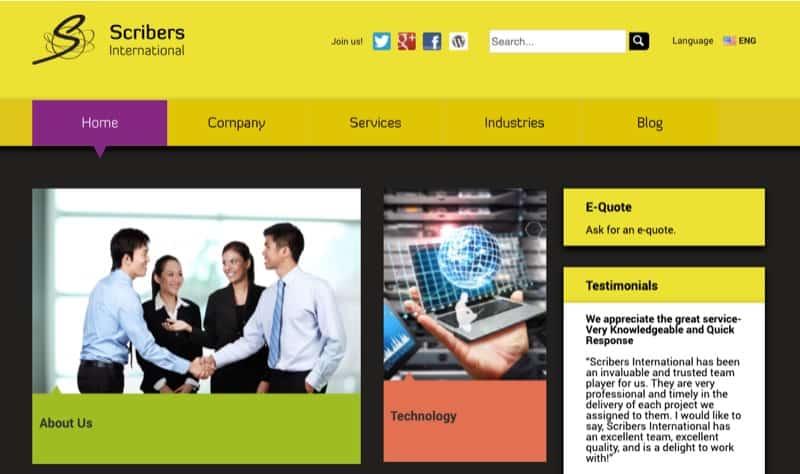 Scribers International digital marketing