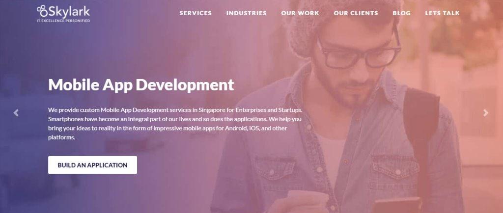 Skylark Top App Developers in Singapore