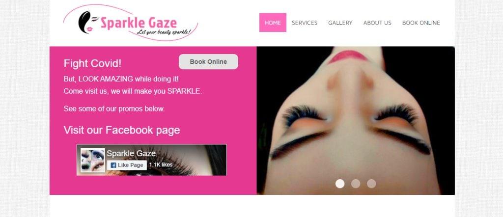 Sparkle Gaze Top Eyelash Extension In Singapore