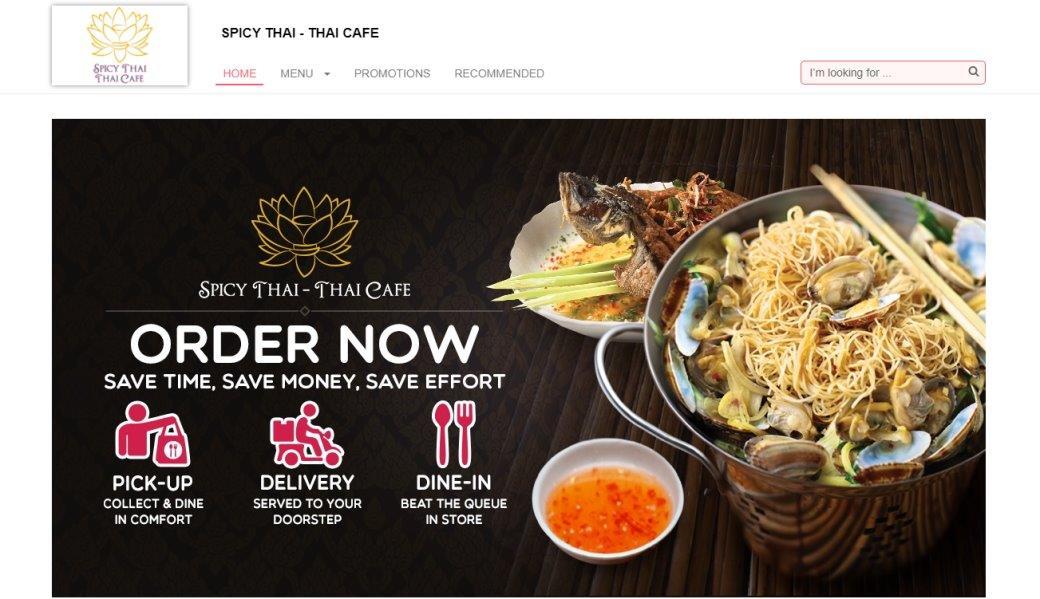 Spicy Thai Cafe Top Thai Restaurants In Singapore