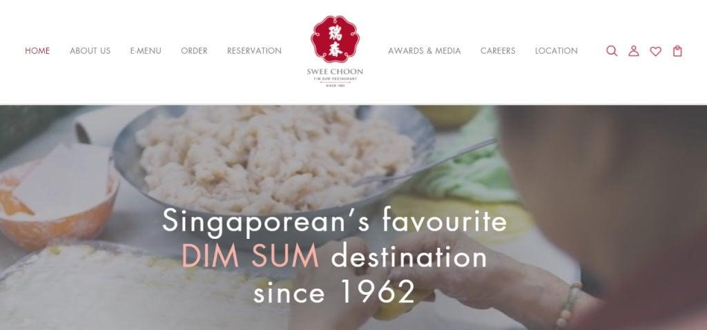 Swee Choon Top Dim Sum In Restaurants Singapore