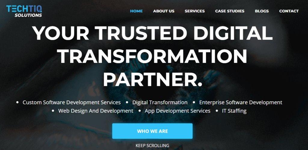 TechTiq Top App Developers in Singapore