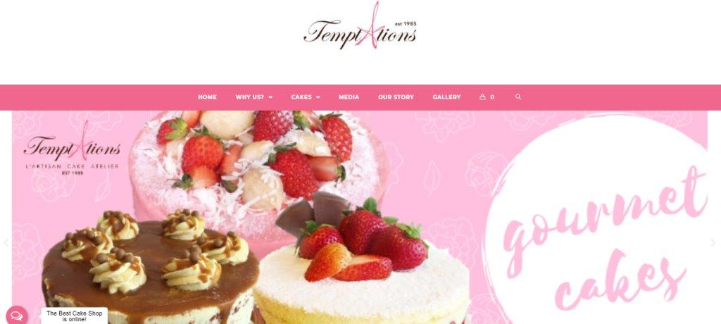 Temptations Top Birthday Cakes In Singapore