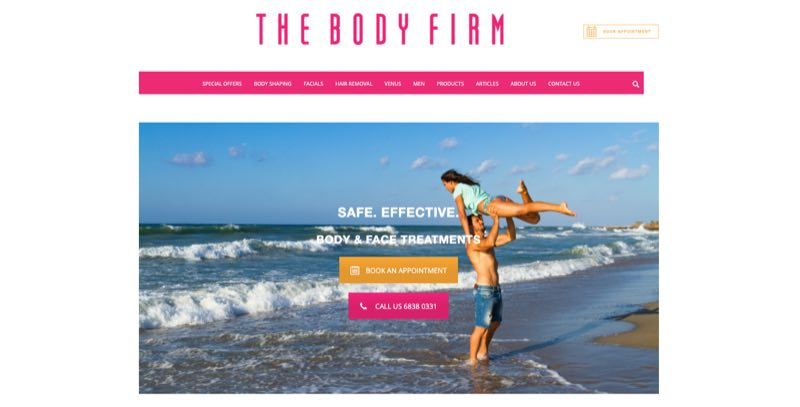 The Body Firm hair removal specialists