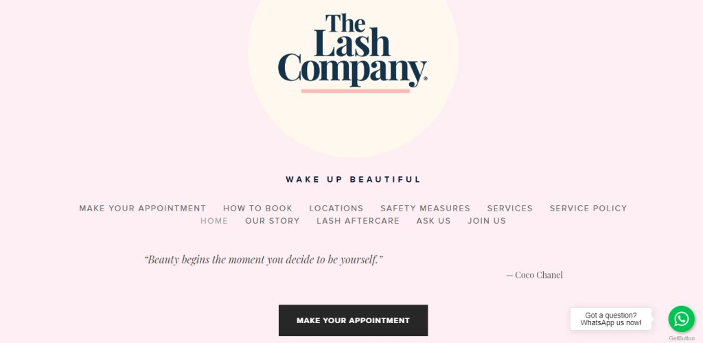 The Lash Company Top Eyelash Extension In Singapore